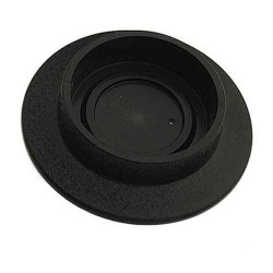 Plastic Base Black Ø 50.8 mm / 2 Inch