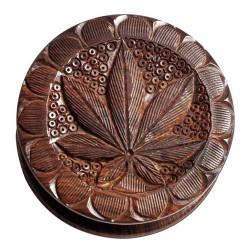 weed grinder | 2part | rosewood | Ø 75mm