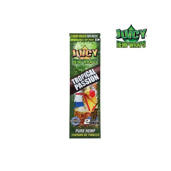 Juicy Hemp Wraps Tropical Passion